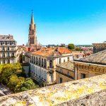 Vue de l'Arc de Triomphe ©OT Montpellier